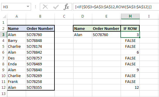 Image showing an IF statement and array