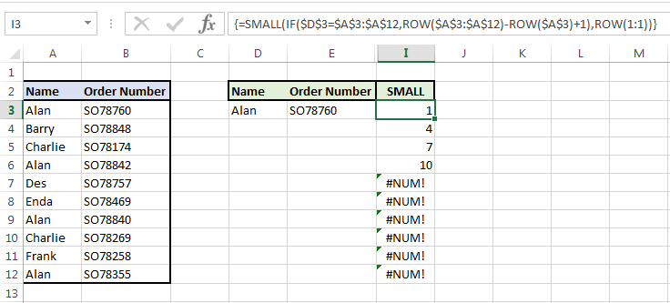 Image showing our formula updated to include SMALL