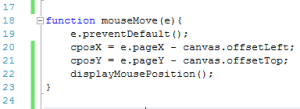 image showing canvas mouseMove function
