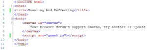 image showing code for skeleton 2 file