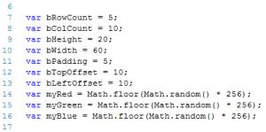 arkanoid games tutorial brick variables