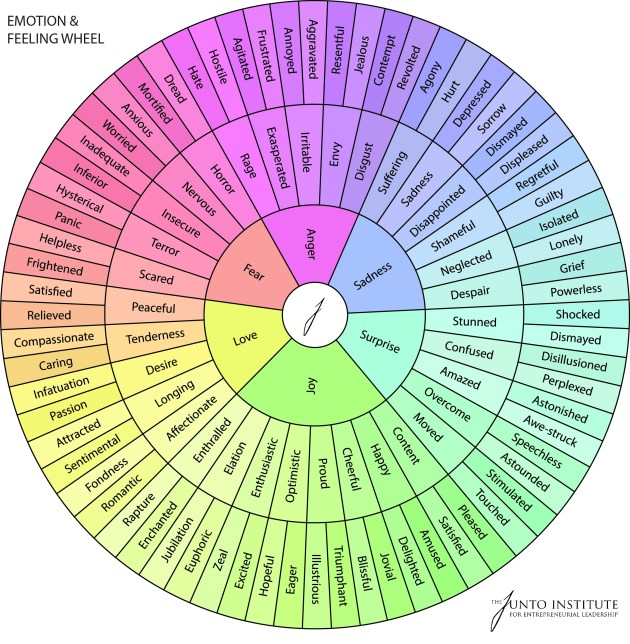 Image result for emotion wheel