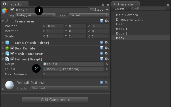 Unity Getkeydown Not Working