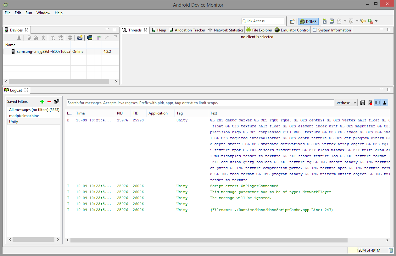 Accessing Your Unity Game Logs
