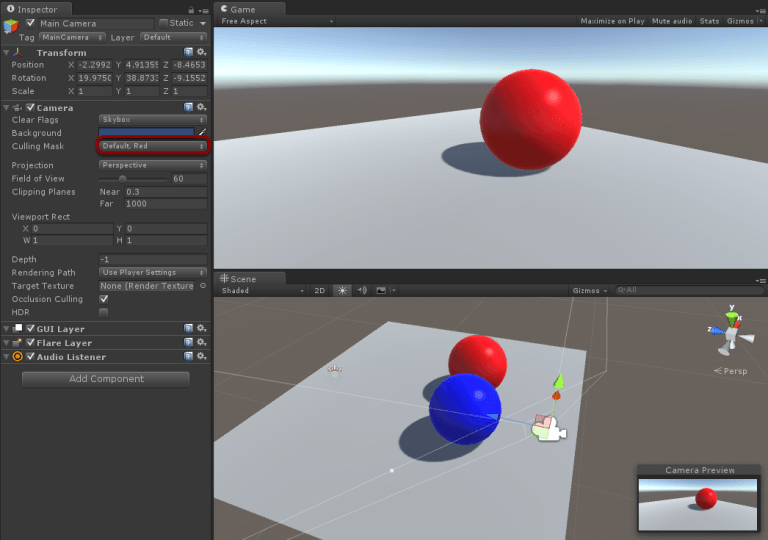 How to Use Multiple Cameras in Unity3D