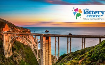 The Lottery Centre features beautiful bridges around the world.