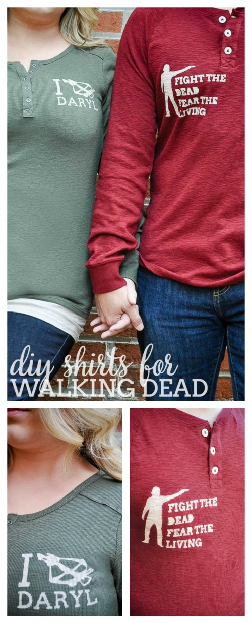 Celebrate our Walking Dead obsession with these DIY Walking Dead Ideas!