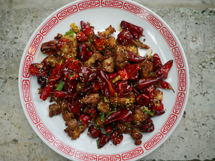 Chongqing Chicken With Chilies