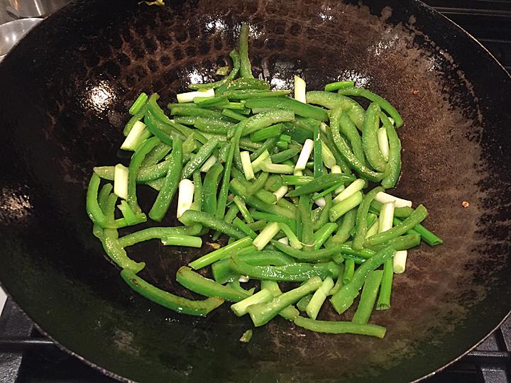 peppers for tian mian jiang pork