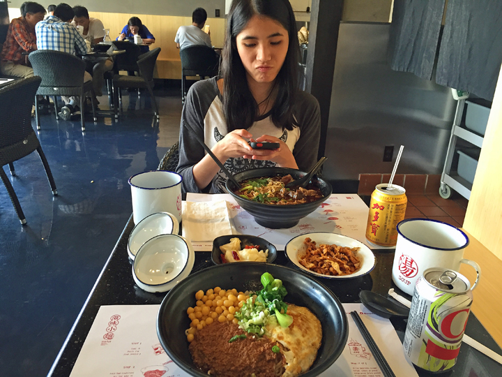 Mian's Chengdu zajiang noddles for Instagram