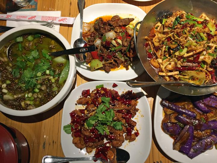Mala Sichuan Bistro green Sichuan pepper bullfrog