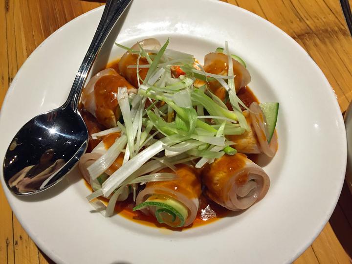Mala Sichuan Bistro's cold pork in garlic