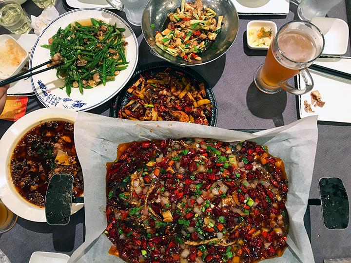 Qing Mei Mei feast by The Mala Project