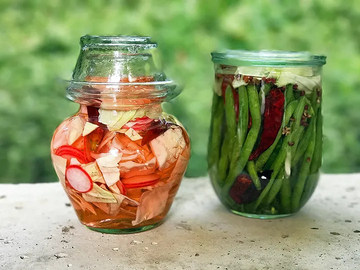 Sichuan naturally fermented pickles