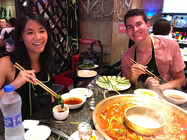 Sichuan mala hot pot (mala huo guo)