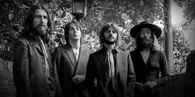 The Beatles, before their breakup grew beards. Even Paul grew a stubble. - Source: beatles22.weebly.com