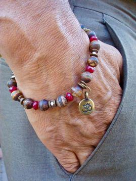 wrist accessories work best when done minimally