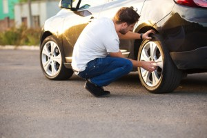 changing the tyres