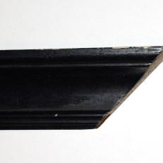 Bevelled, hand-finished wood frame. 50mm