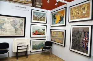 The Map House at the London Original Print Fair