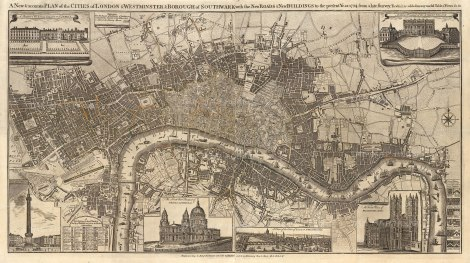 Dicey. Plan of London 1794 [LDN5484]