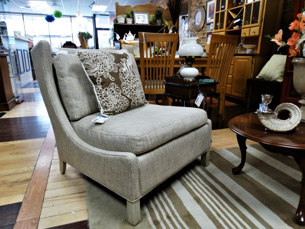 High Vs Low Accent Chairs On Consignment The