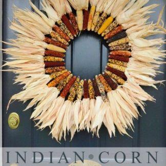 Indian Corn Wreath Source: Stonegable Blog