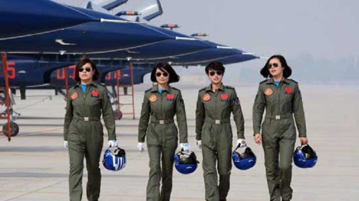 PLAAF Pilots