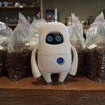 Musio needs charging and coffee
