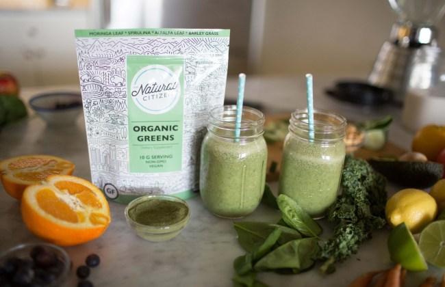Green Powder Supplement