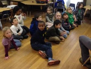TNCS elementary art class