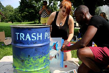 School of fish. Photo credit: Brian Schneider, www.ebrianschneider.com
