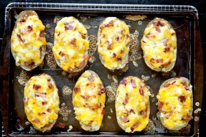 These twice-bakeds can be stuffed in any number of ways---be creative!
