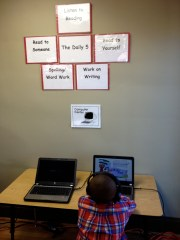 Daily 5: Read to Self, Work on Writing, Read to Someone, Listen to Reading, Word Work
