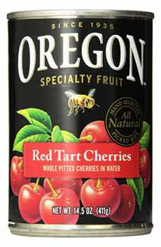 Oregon Pitted Cherries