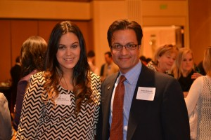 Arely Flores and HPGM member Rafael Acevedo