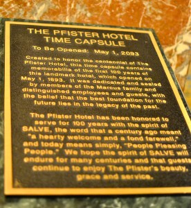The Pfister Time Capsule