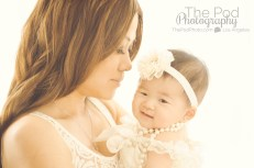 Mommy-And-Me-Nuzzled-Baby-White-Background-Studio-Best-Baby-Photos-Los-Angeles