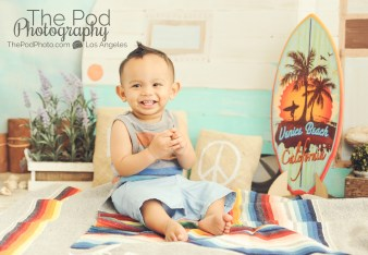 Bohemian-Camper-Set-Love-Peace-Music-Vintage-Beach-Summer-Baby-Kids-Photography-Studio-Brentwood-Baby-Boy