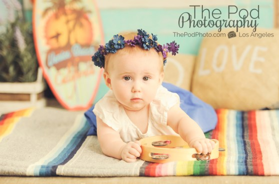Bohemian-Camper-Set-Love-Peace-Music-Vintage-Beach-Summer-Baby-Kids-Photography-Studio-Pacific-Palisades-Floral-Crown