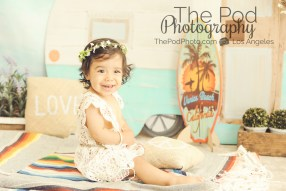 Bohemian-Camper-Set-Love-Peace-Music-Vintage-Beach-Summer-Baby-Kids-Photography-Studio-Santa-Monica-Surfer-Baby-Girl