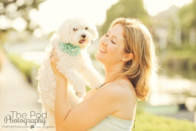 Mommy-And-Puppy-Cute-Maltese-Family-Photos