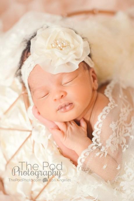 lace-classic-newborn-photography-girly-pink-ivory