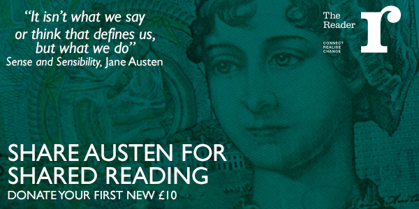 Share Austen for Shared Reading – Donate your #FirstTenner