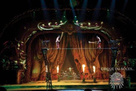 Photo credit - Cirque du Soleil - Zarkana