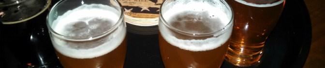 Tippling a brew at Gun Hill Brewery in Da Bronx, NYC!