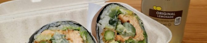 Sushi Burritos in NYC? Sushirrito blew my mind!