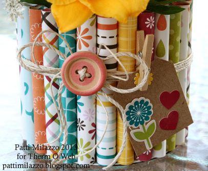 7 2013 ZIPS Rolled Paper Vase 7rev PKM