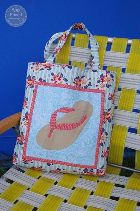 Flip Flop Beach Bag main image