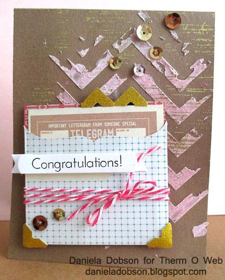 Congratulations by Daniela Dobson